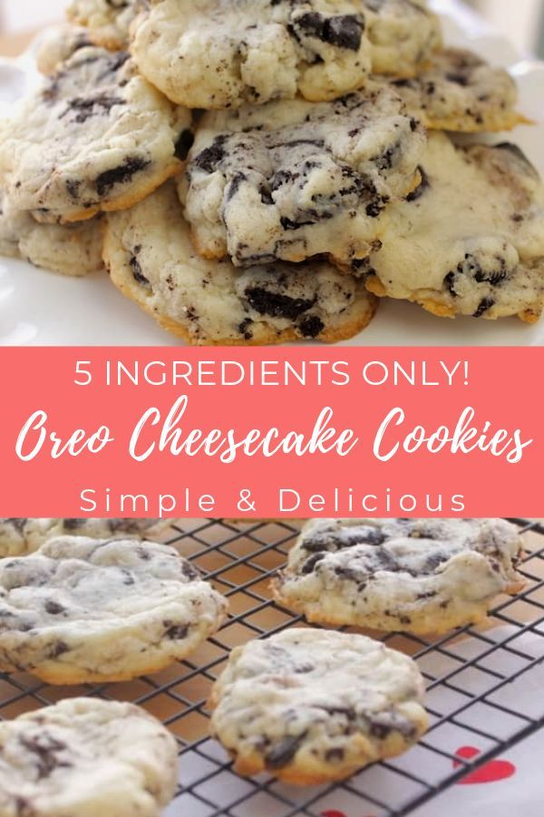Oreo Cheesecake Cookies images
