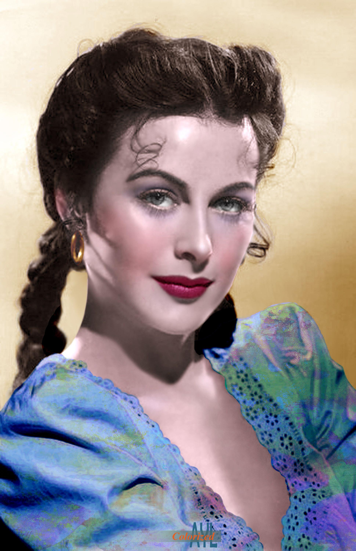 Hedy Lamarr, Tortilla Flat, 1942 #hollywoodlegends