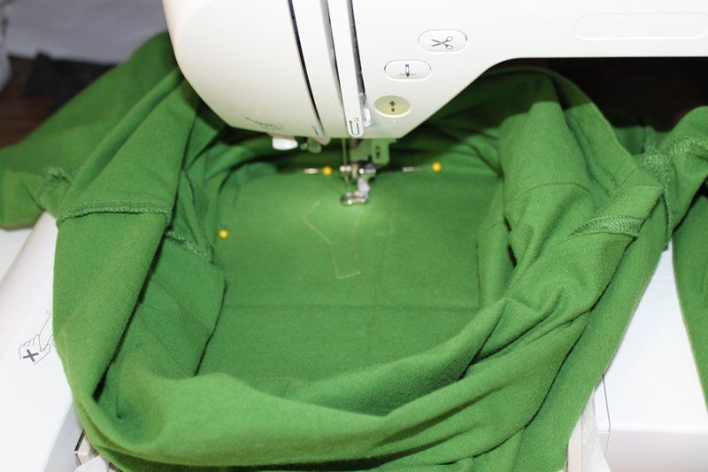 How to applique ready to wear tshirts (a picture tutorial