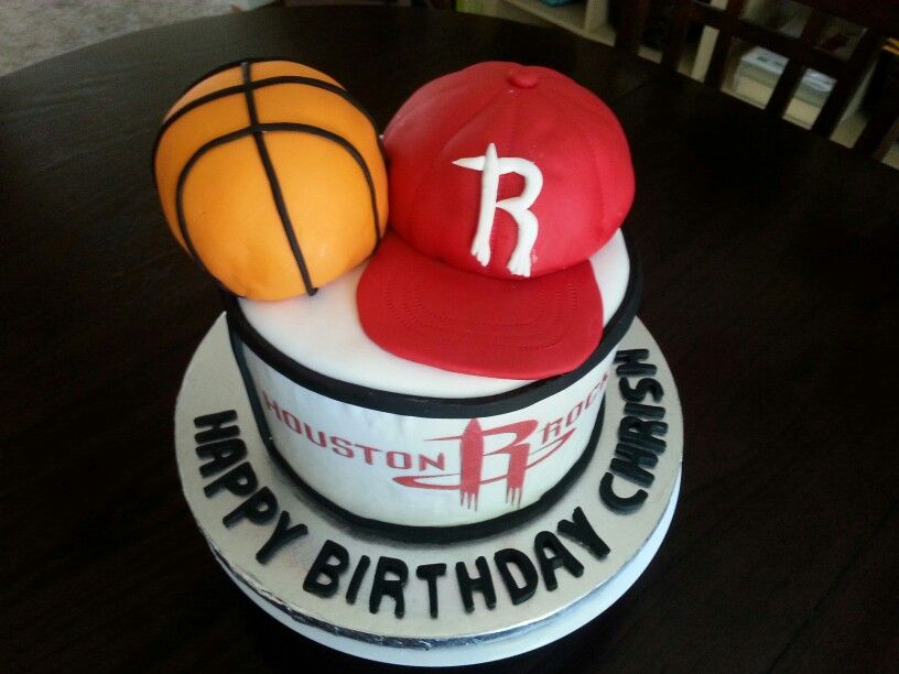 Houston Rockets Cake