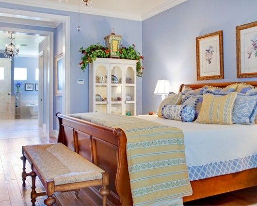 country blue bedroom decorating ideas | Comfortable Home ...