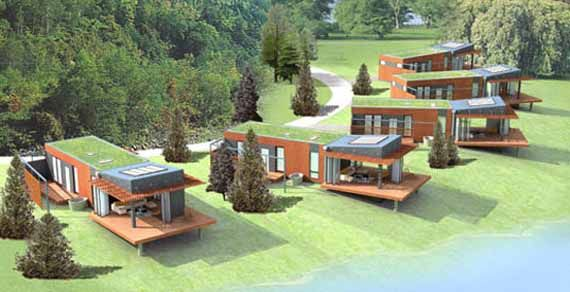 Great Examples Of The Modern Green Pre Fab Homes Of The Day. Function And  Style Make These Homes Remarkable Examples Of Living Environmentally  Friendly.