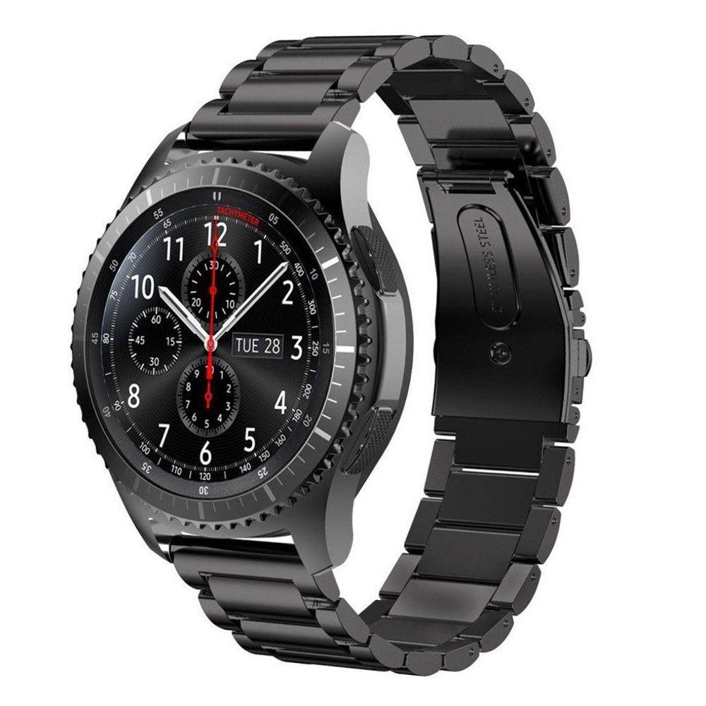 V-moro 22mm cinturino in acciaio per gli attrezzi s3 fascia braccialetti per ingranaggi di ricambio s3 classico frontier smart watch