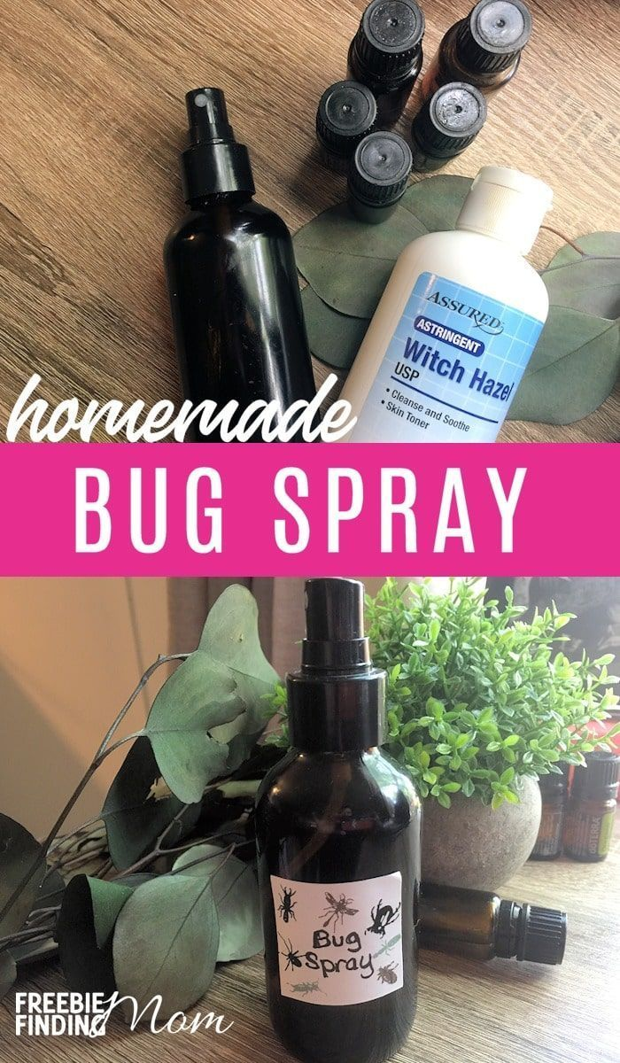 Homemade Bug Spray Homemade bug spray, Bug spray recipe