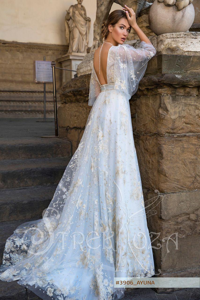 AYUNA wedding dress by STREKKOZA Couture at Charmé Gaby Bridal Gown ...