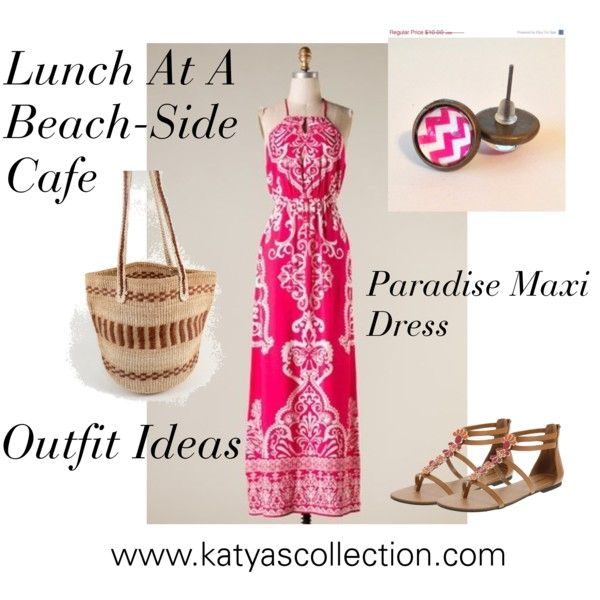 """""""Lunch at The Beach - Outfit Ideas"""" by mstravesura on Polyvore"""