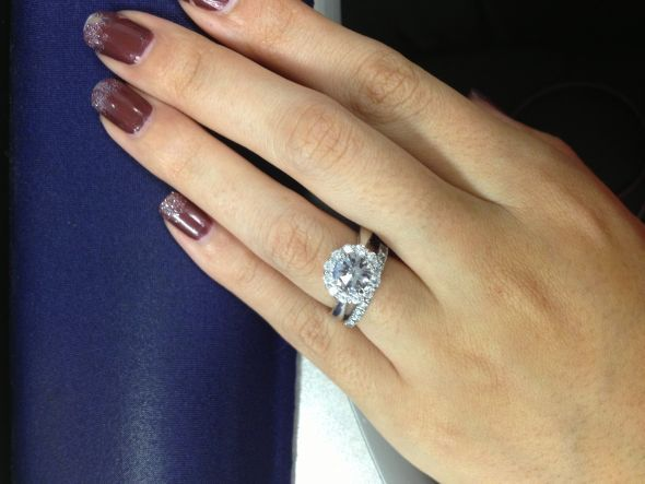 Big Engagement Rings On Fingers 31 Engagement Rings Pinterest