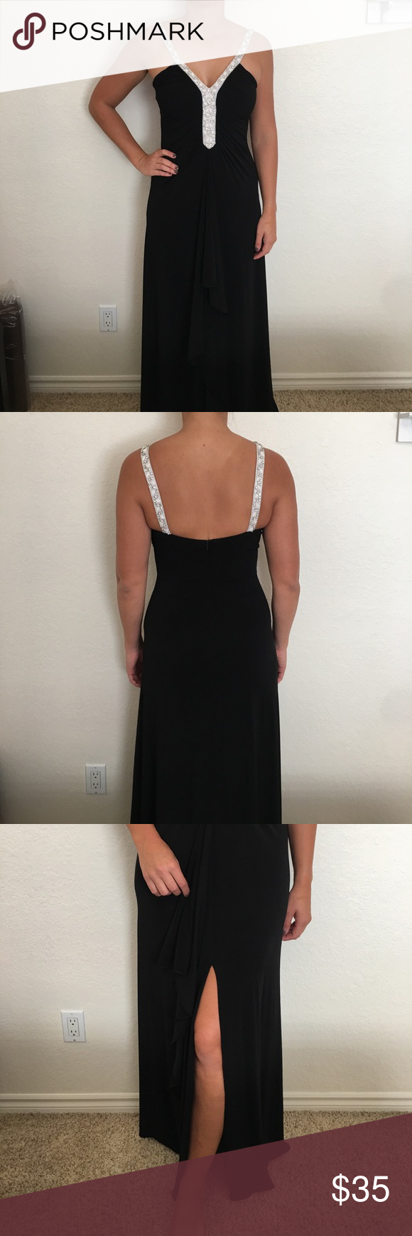 Beautiful black prom dress beautiful black prom dress excellent