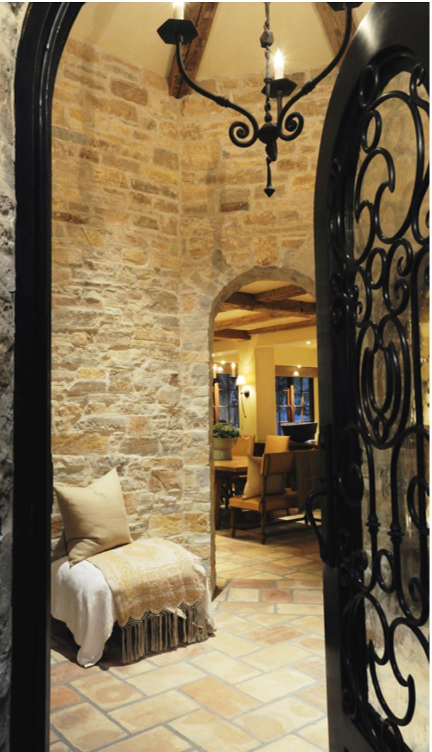 gorgeous stone & iron   Old World, Mediterranean, Italian, Spanish ...