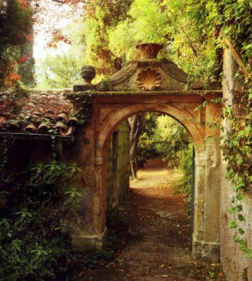 Mi Casa Encantada Puerta De Jardín Jardines Secretos Jardines
