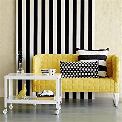 Sommarfräscht och färgglatt i skandinavisk stil