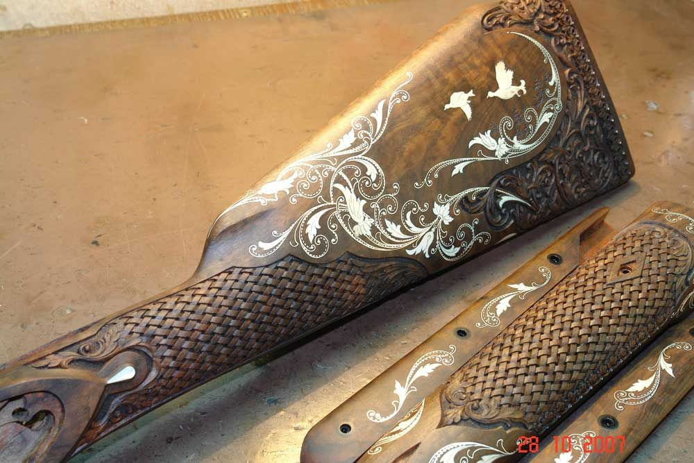 silver wire inlay in wood - Google Search   engravings   Pinterest ...