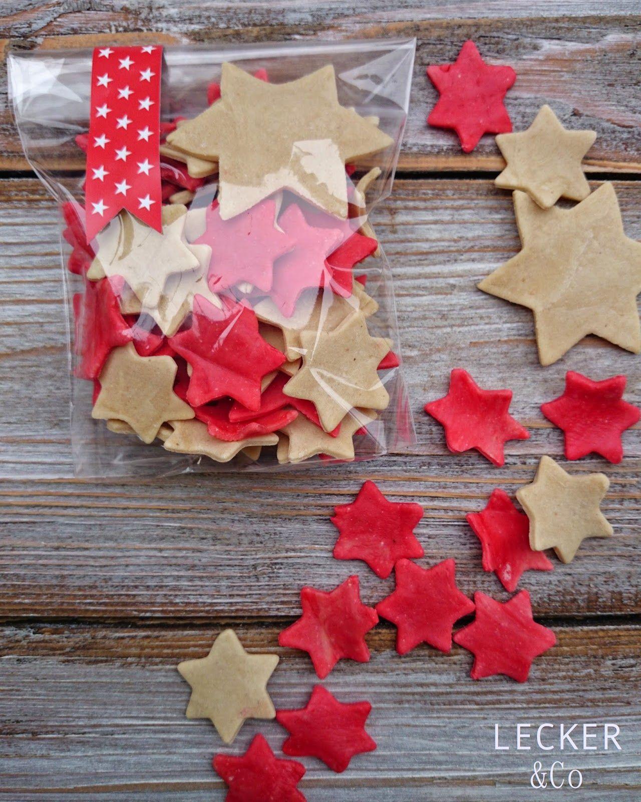 lecker & co Sternchen Nudeln selbstgemachte Pasta · Kleine Geschenke