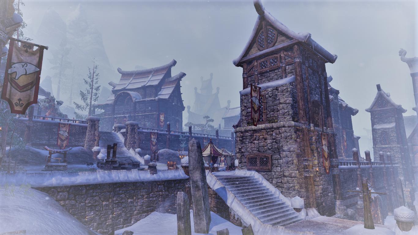 Windhelm In The First Era Eso Screenshot By Coco Michelle Fantasy World Elder Scrolls World