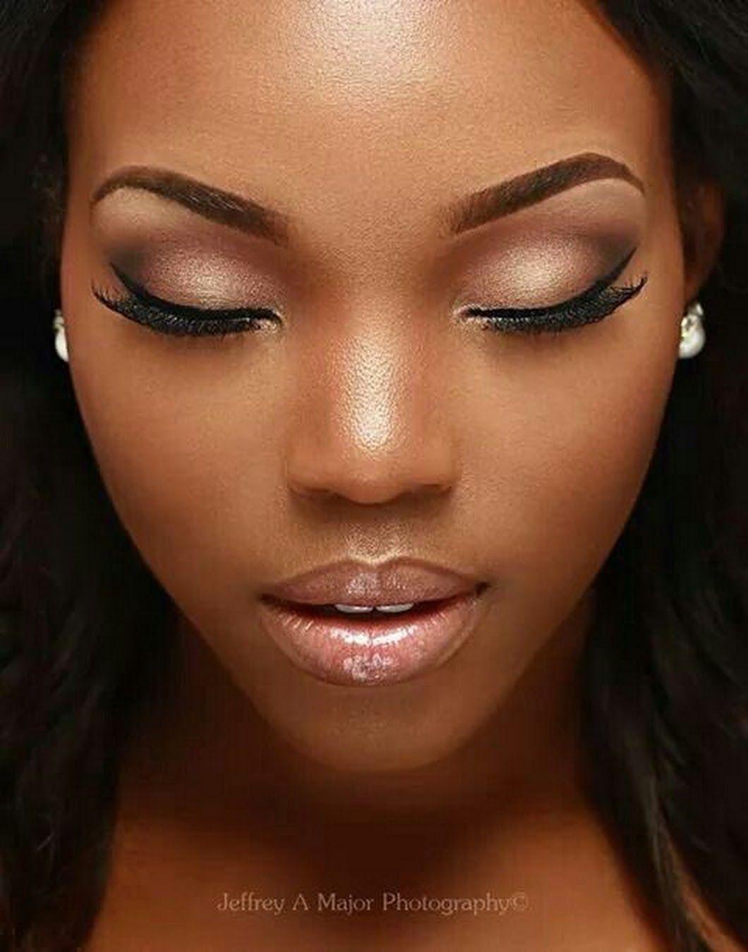 Pin by Bilaal on African woman Dark skin makeup, Makeup