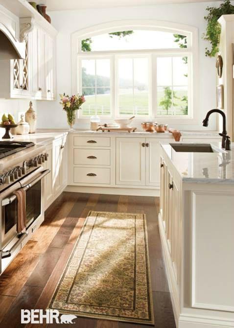 Cameo White Behr Paint Kitchen Cupboard Colours White Kitchen Cupboards Kitchen Inspirations