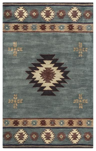 Rizzy Southwest Su2008 Area Rug Native American Rugs Wool Area
