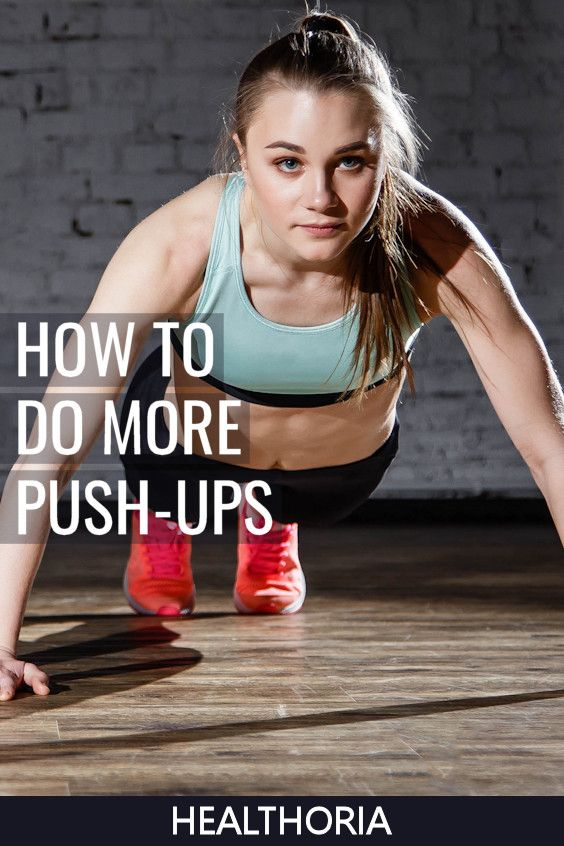 How to improve your upper body strength to do more push-ups and some common training mistakes to avo...