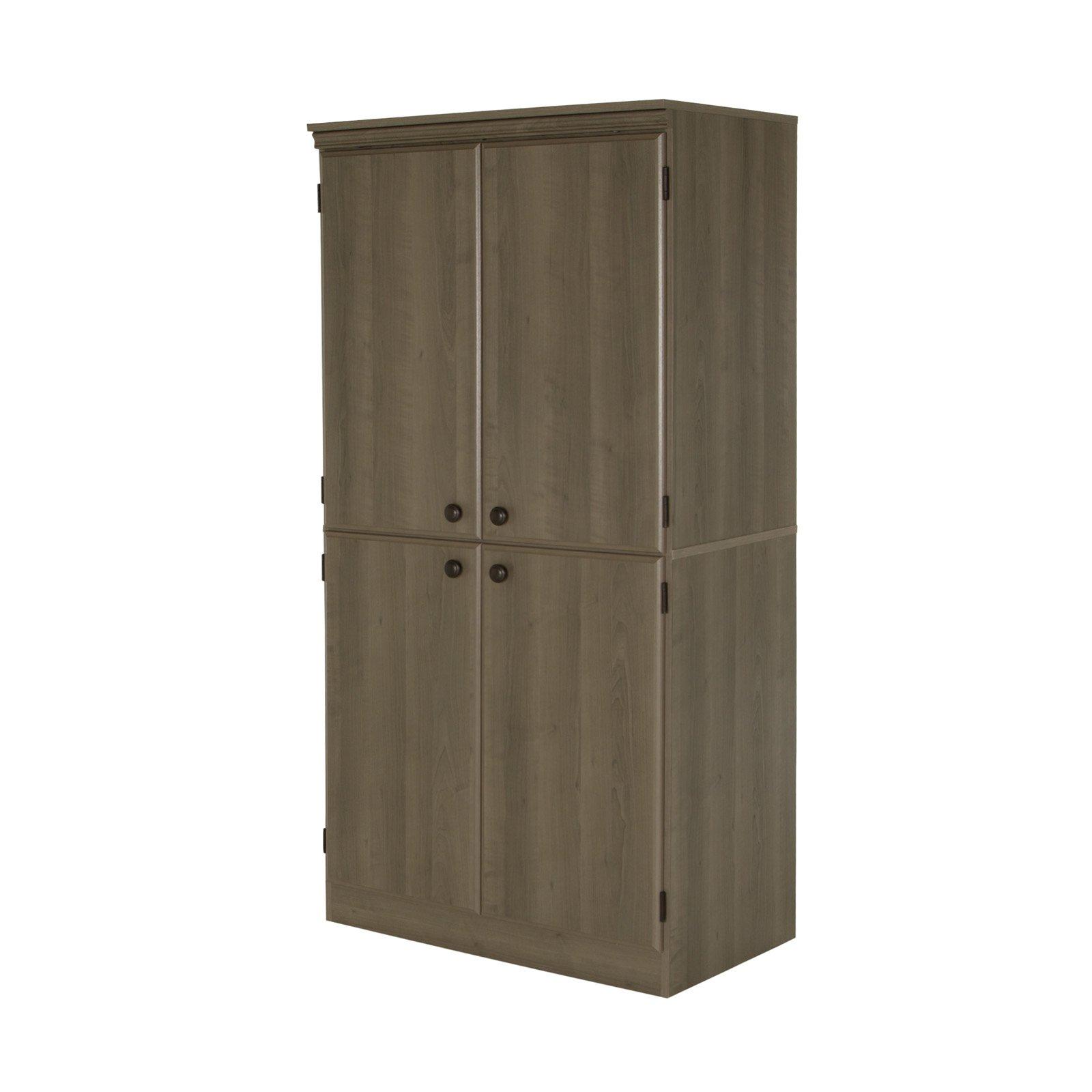 South Shore Morgan 4 Door Storage Cabinet Storage Cabinets Storage Door Storage