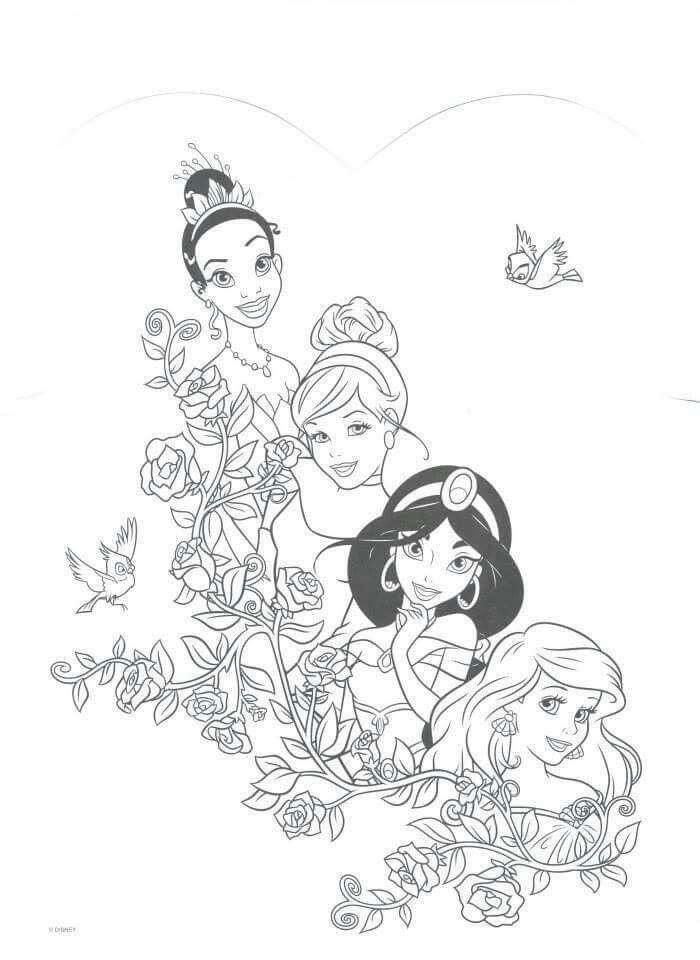 Princesses Disney Coloriage