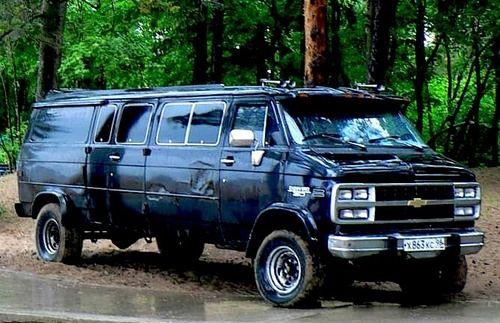 Chevy Van G30 4x4 Custom Vans Cool Vans Vans