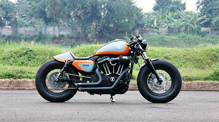 Harley Davidson Forty Eight Cafe Racer