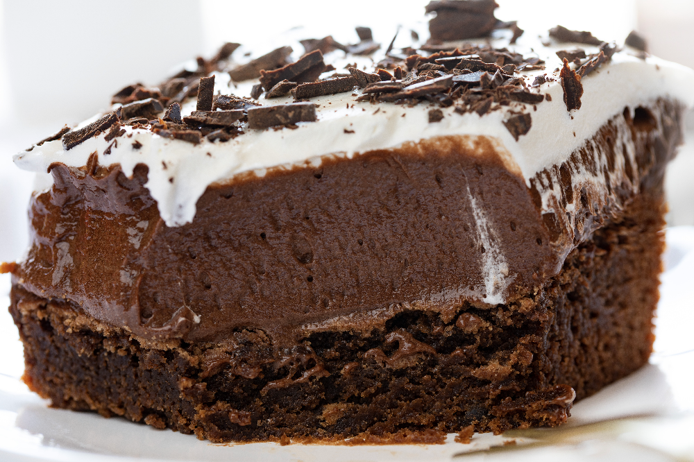 These decadent French Silk Brownies are a chocolate overload. Layers of rich perfection... make thi