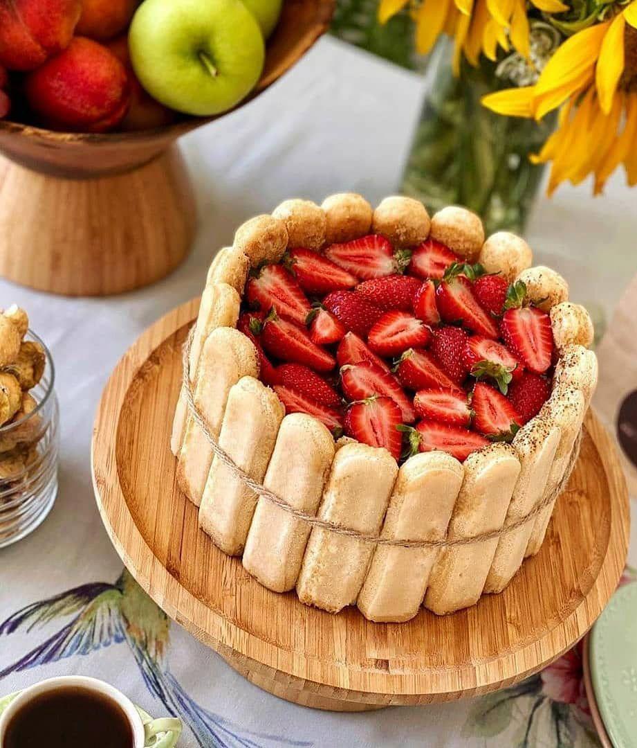 طرز تهیه تیرامیسو ساده خانگی خوشمزه به روش اصلی ایتالیایی Recipe Desserts Food Strawberry