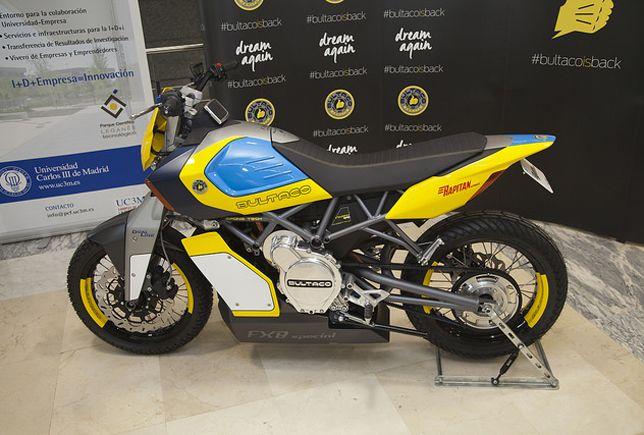 bultaco vuelve al asfalto con una moto elctrica