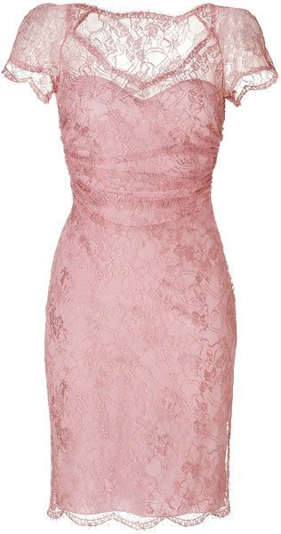 4c5a2624a05b Emilio Pucci Pink Draped Lace Overlay Dress in New Pink We are want to say  thanks if you like to share this post to another people via your facebook,  ...
