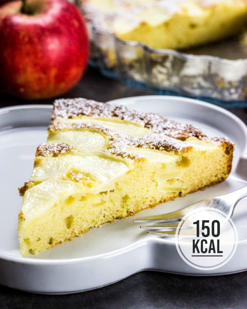 Kalorienarmer Apfelkuchen Fettarm Und Super Saftig Rezept Saftiger Apfelkuchen Apfelkuchen Und Kuchen