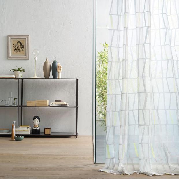 Vorhänge und Gardinen - aktuelle Modelle und Trends Gardine \ - aktuelle trends esszimmer mobel modern