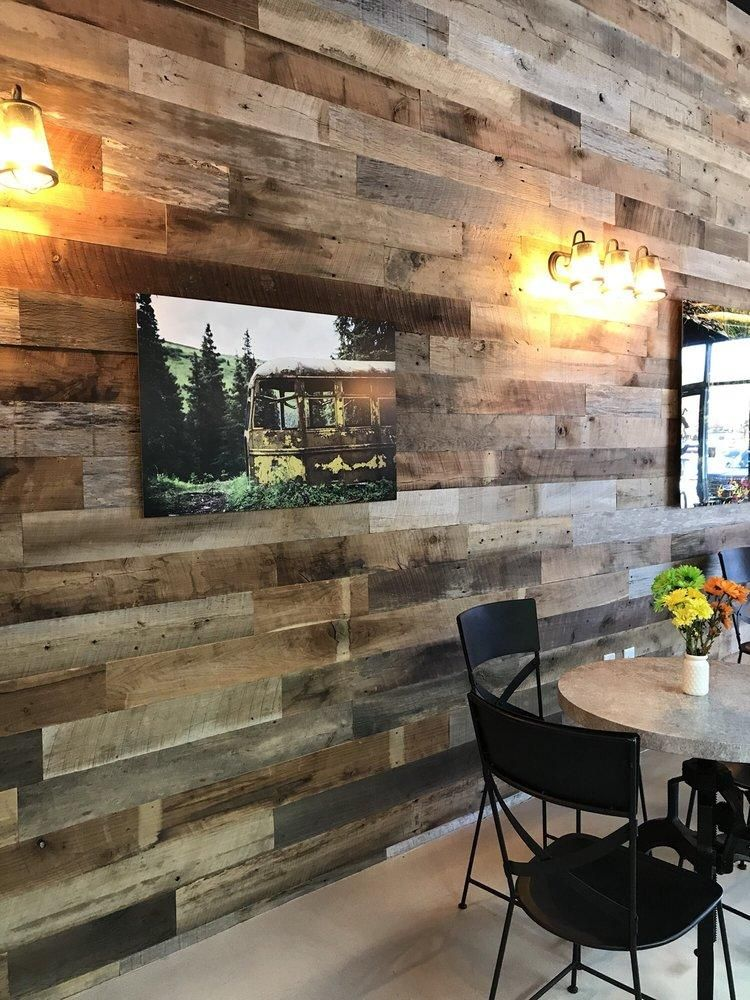 Antique Wood Paneling For Walls: 24sf Reclaimed Barn Wood 8ft Long Plank Wall Paneling Kits