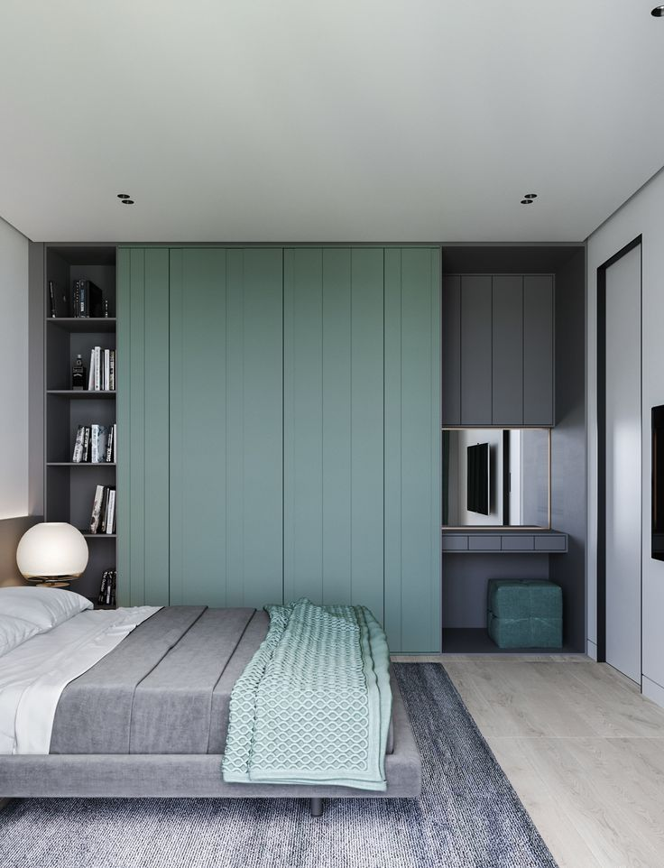 Best Grey And Blue Green Is A Calm And Serene Colour Scheme For 400 x 300
