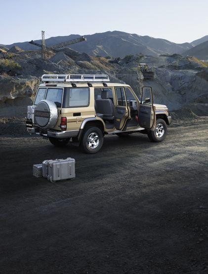 Sandlander Toyota Land Cruiser Land Cruiser Expedition Truck