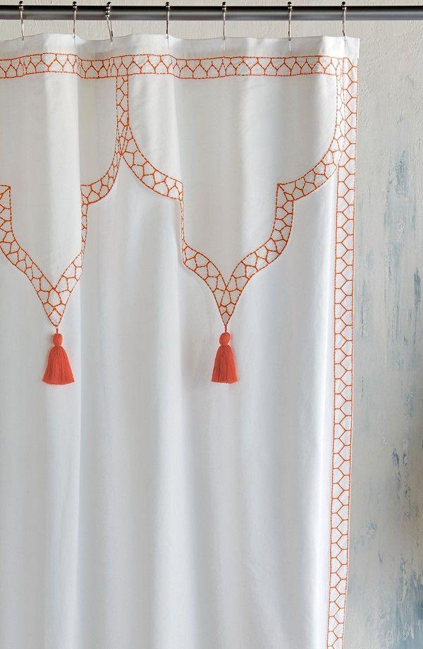 John Robshaw Iswar Shower Curtain Stylish Shower Curtain Shower