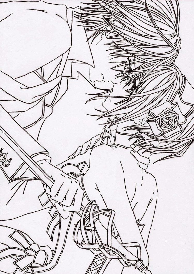 Uncategorized Vampire Knight Coloring Pages chibi vampire coloring pages google search search
