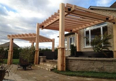 Pur patio, exemple de pergola 3
