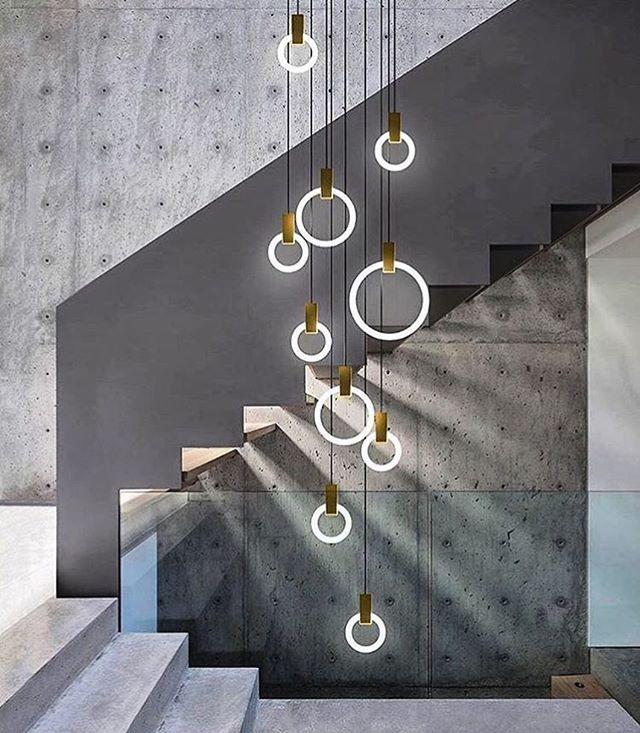 Déco Cage Escalier 50 Intérieurs Modernes Et Contemporains: Lighting Design By @matthew.mccormick