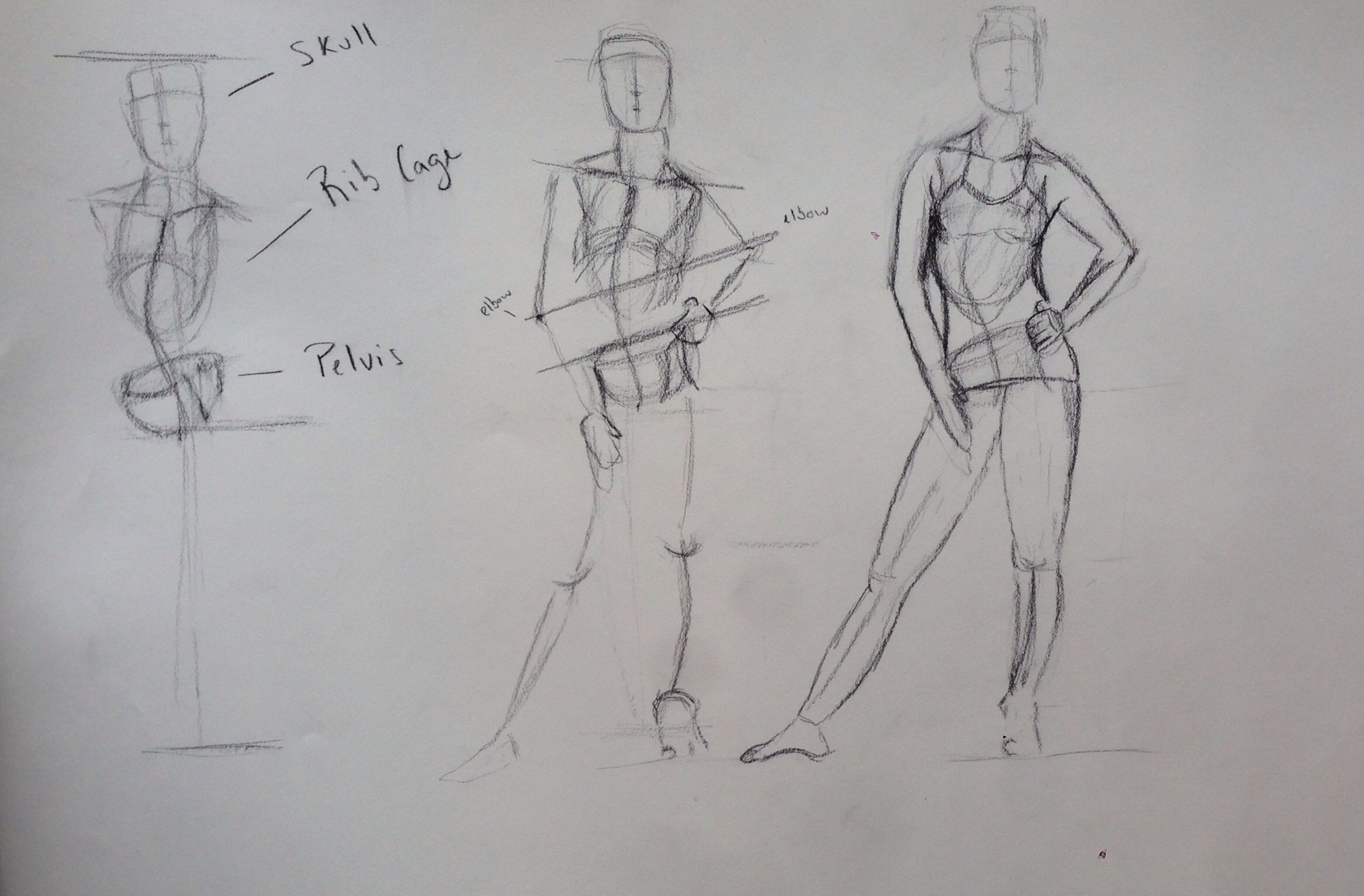 Uncategorized Drawing Lessons breakdown of a contrapposto pose for figure drawing lesson lesson
