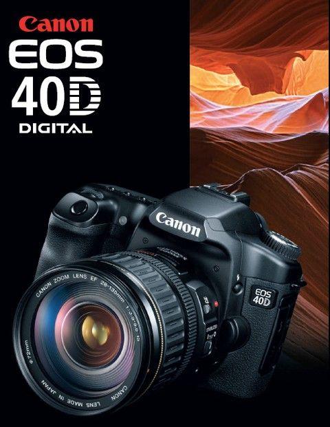 Canon Eos 40d Free Download Pdf Photographie Technologie