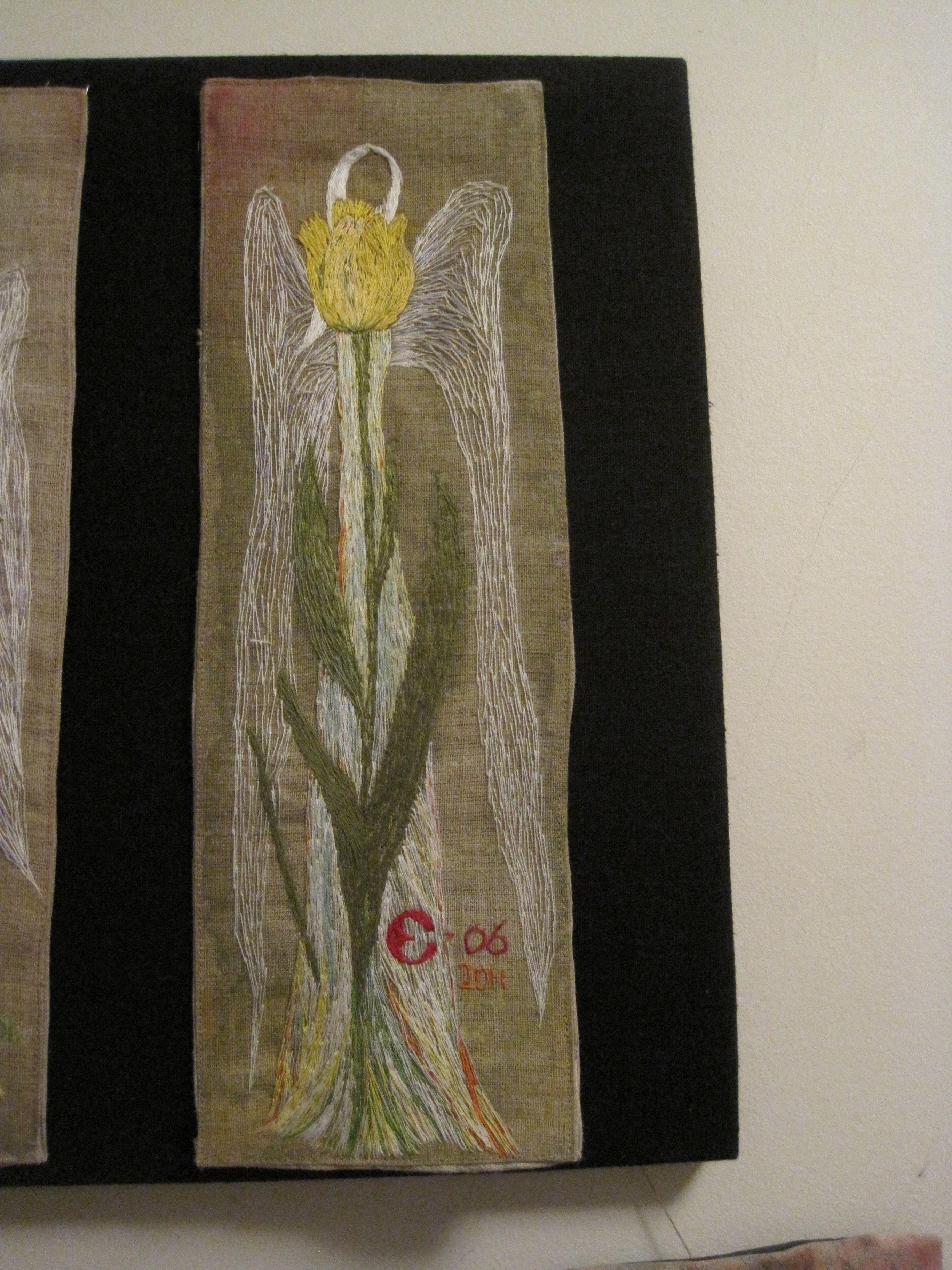 Keltaisen tulppaanin enkeli