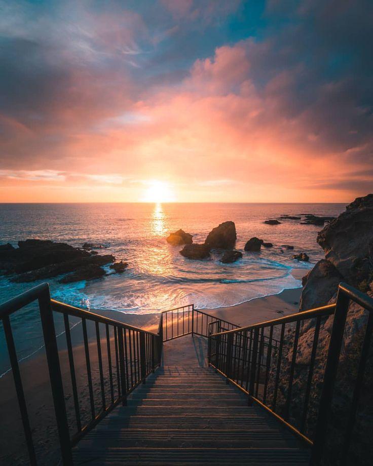 Derek Liang Captures Unbelievable Landscapes In California Ocean Wallpaper Landscape Photography Ocean Photography