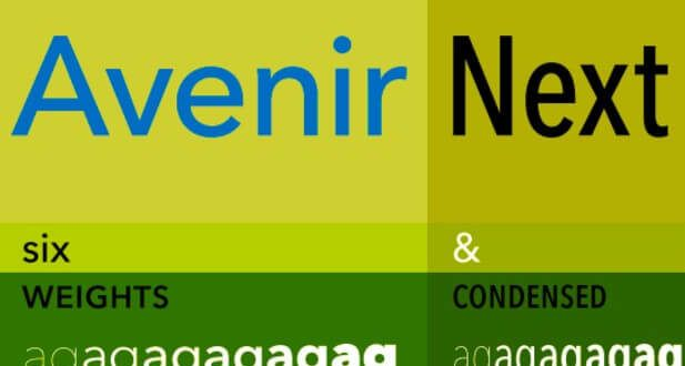 Avenir Next Font Free Download | Fonts | Free fonts download