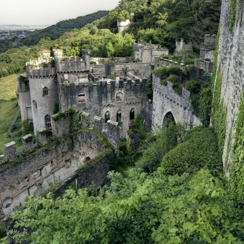 Gwrych Castle. Wales photo via devon