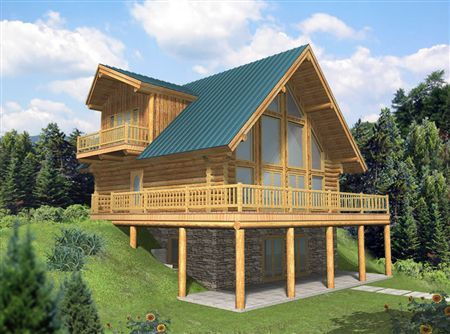 Small Cabins With Basements Daylight Basement Plans House