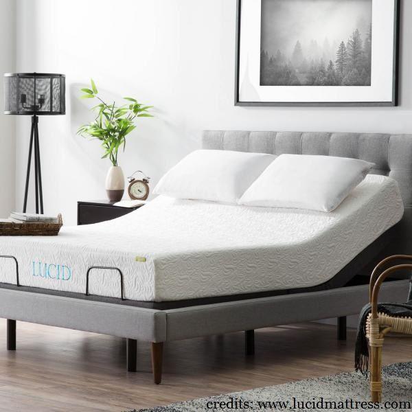 Best Lucid L300 Adjustable Bed Frame Adjustable Beds Bed 640 x 480
