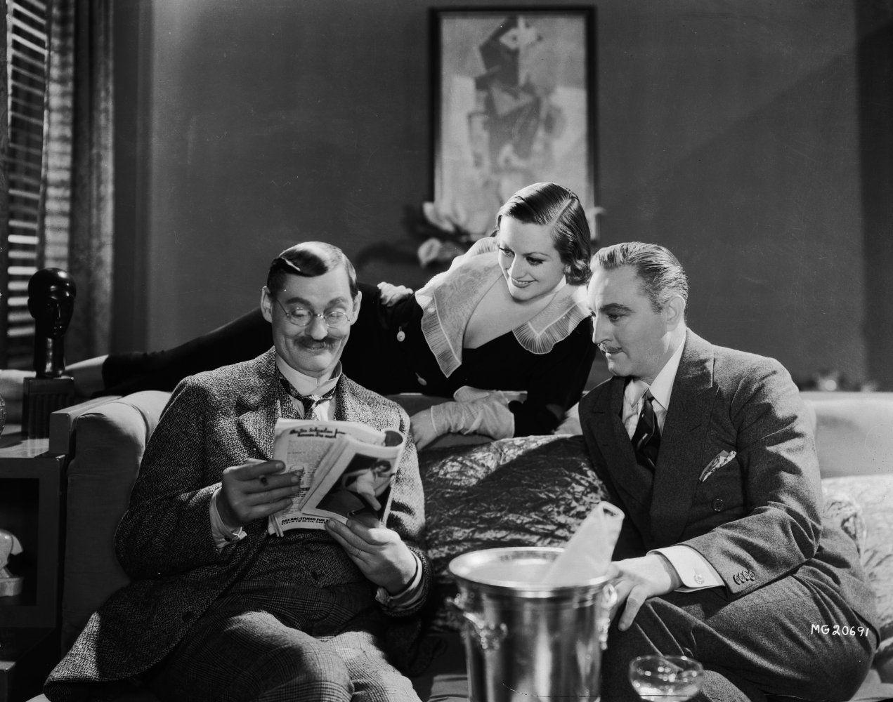 Joan Crawford and John Barrymore Grand Hotel In