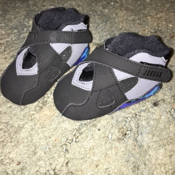 Infant Soft Bottom Jordans Recently Released Aqua 8s By Air Jordan Great Condition Shoes