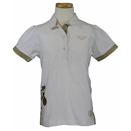 Tuffrider Kids Blossom Polo Shirt